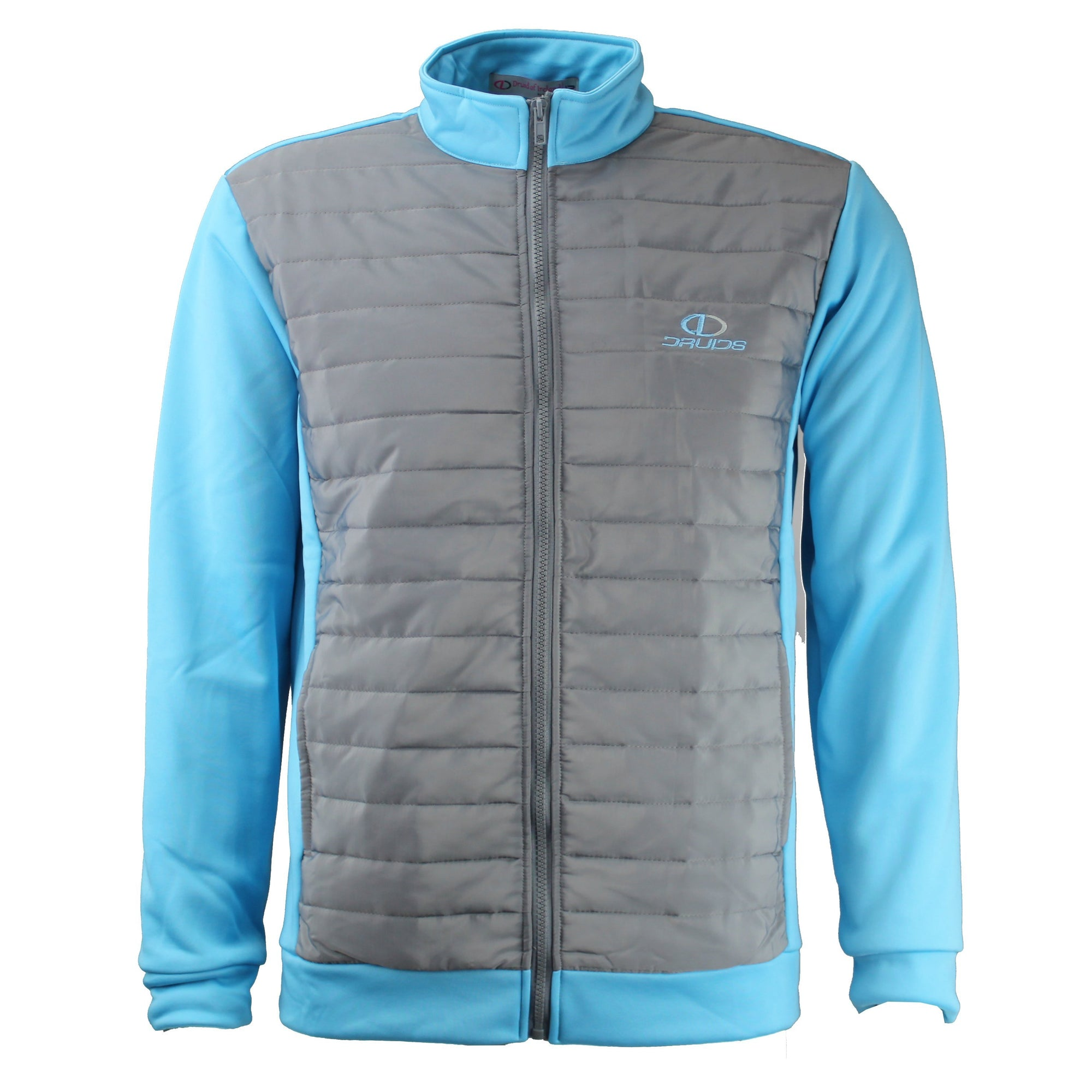 Druids Golf - Ladies Puff Jacket 2018 (Sky Blue)