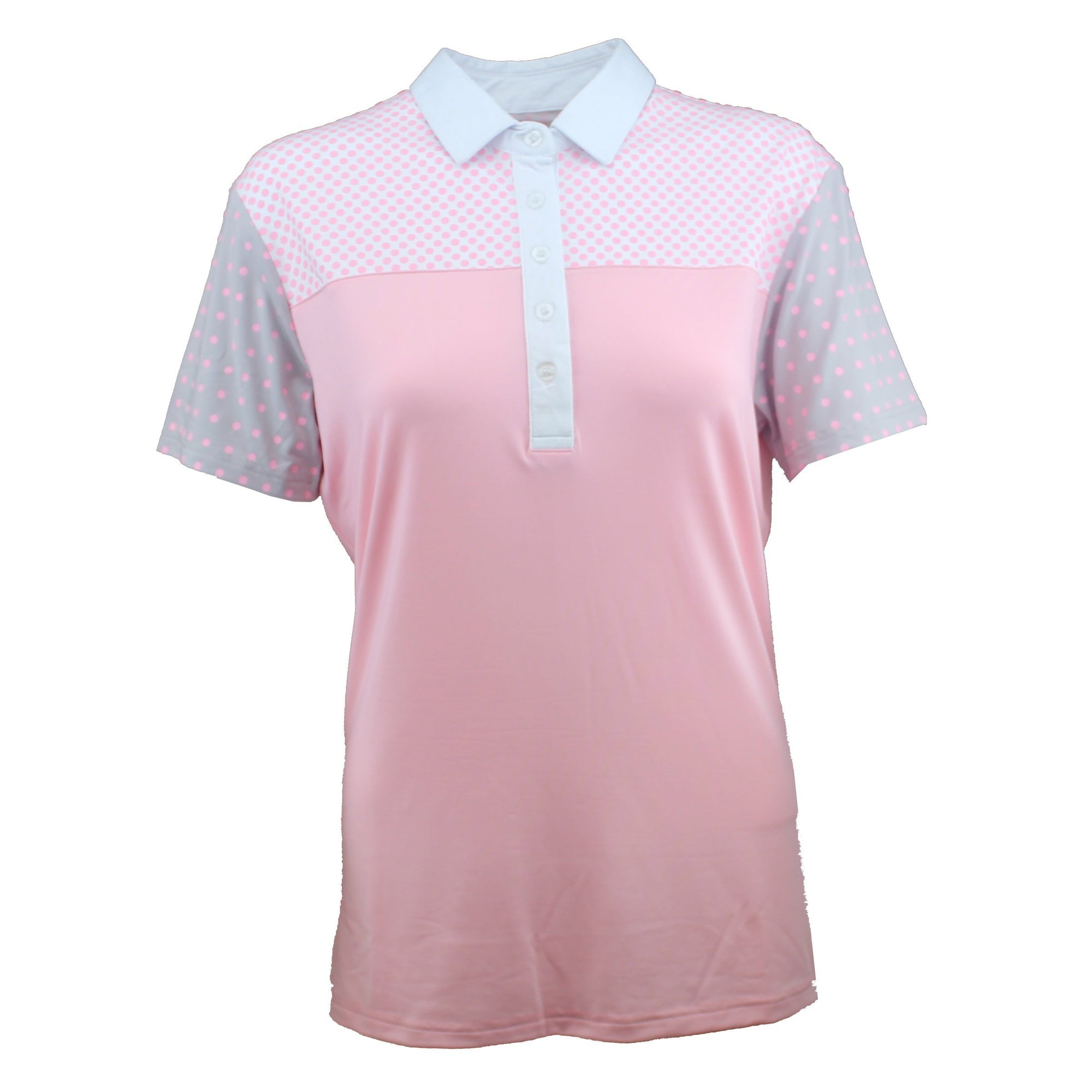 Druids Golf - Ladies Point Polo 2018 (Baby Pink)