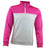 Druids Golf - Ladies Micro ProFit Midlayer (White/Pink)