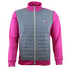 Druids Golf - Ladies Puff Jacket 2018 (Pink)