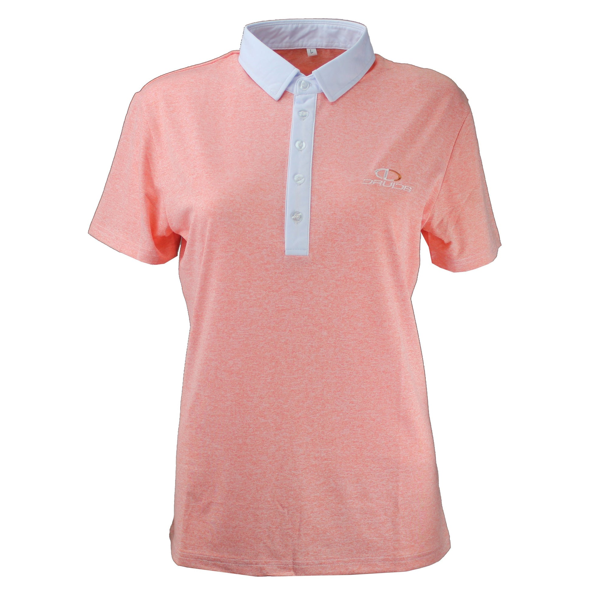 Druids Golf - Ladies Speckled Polo 2018 (Peach)