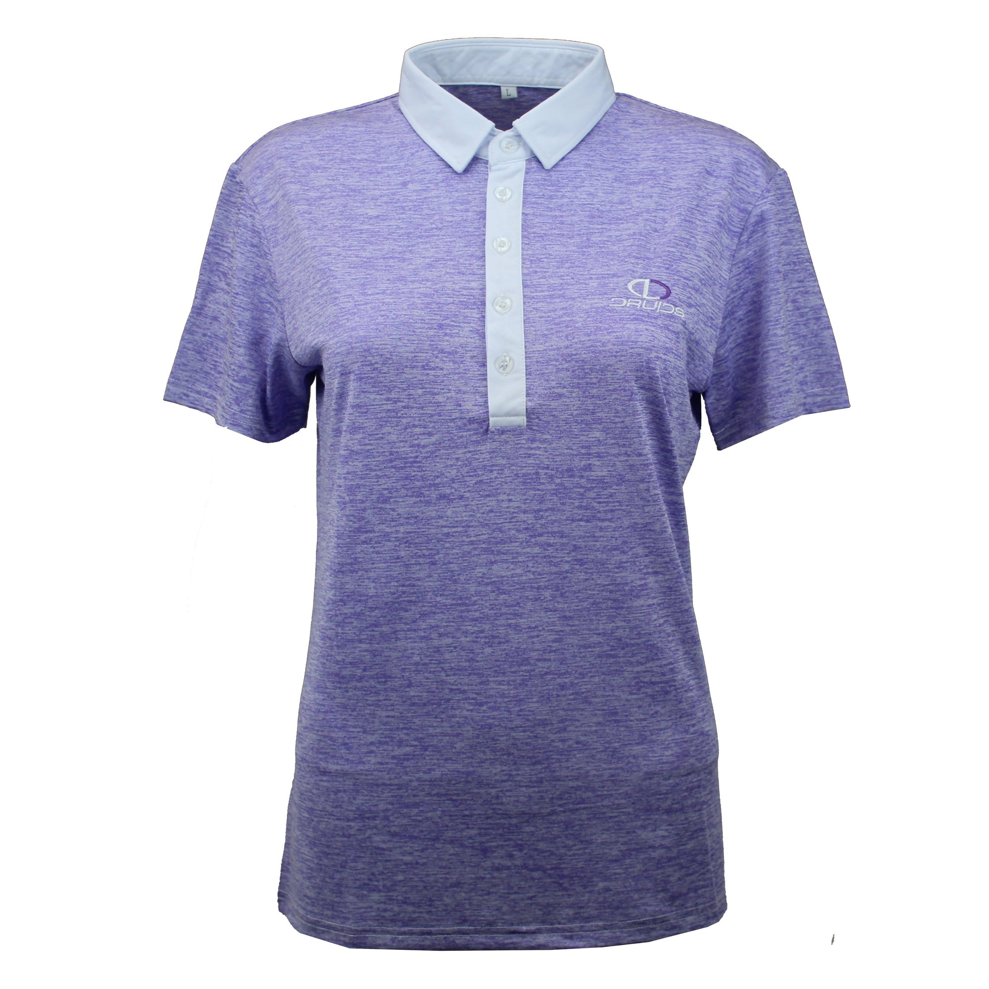 Druids Golf - Ladies Speckled Polo 2018 (Purple)