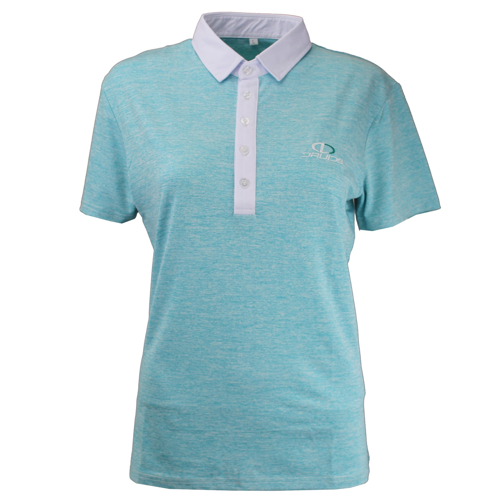 Druids Golf - Ladies Speckled Polo 2018 (Teal)
