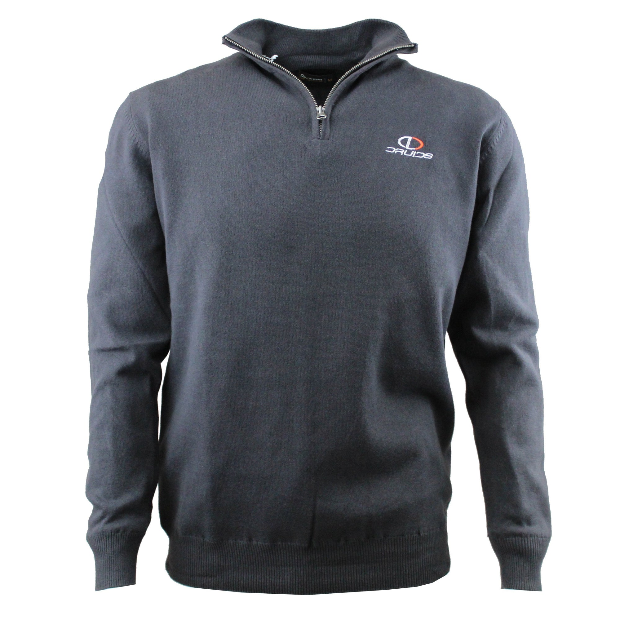 Druids Golf - Cotton Lined Sweater (Charcoal)