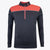Druids Golf - Mens Multi 1/4 Zip (Coral)