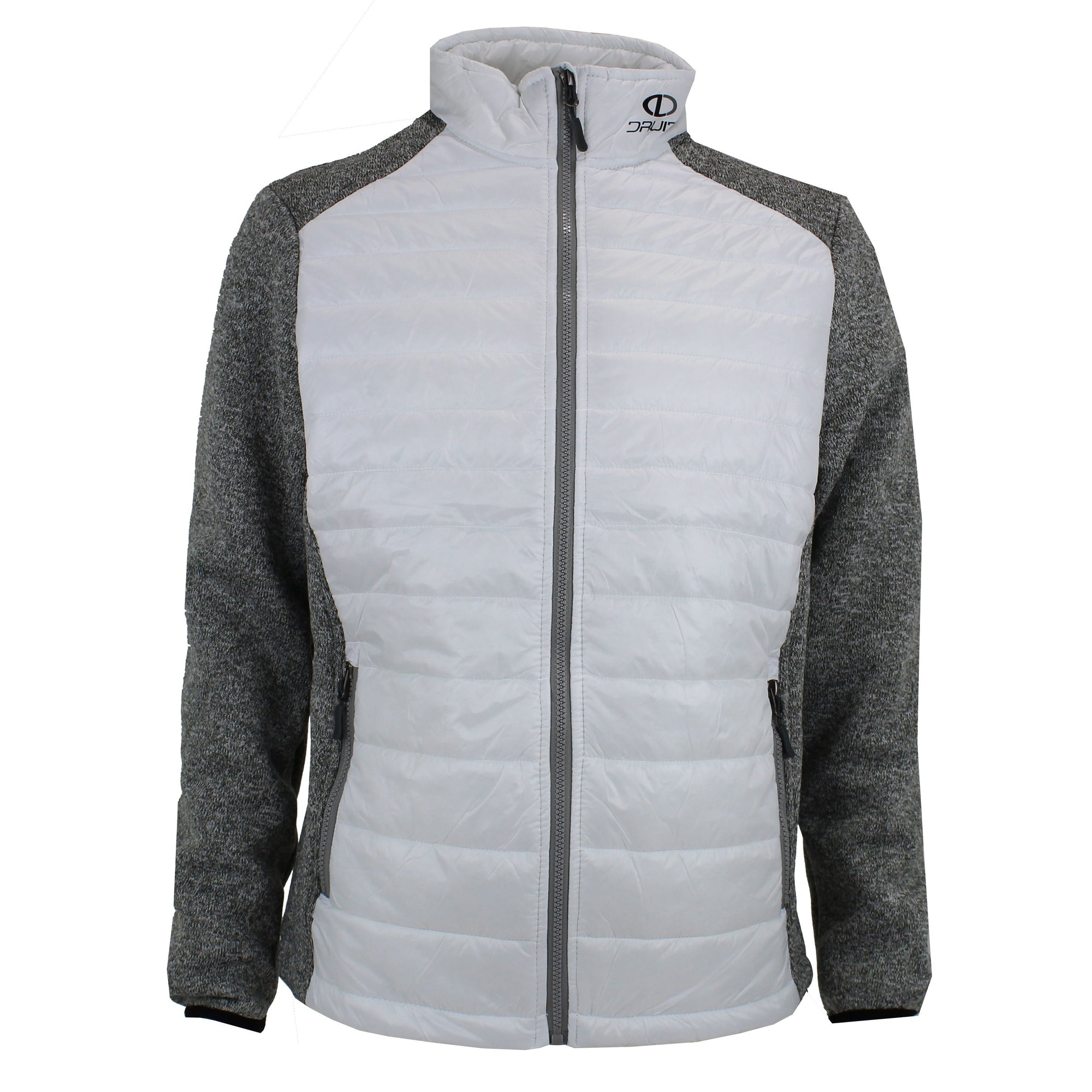 Druids Golf - Ladies Quilted Jacket (White)