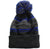 Druids Golf - Mens Striped Corporate Beanie (Blue)