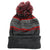 Druids Golf - Mens Striped Corporate Beanie (Red)