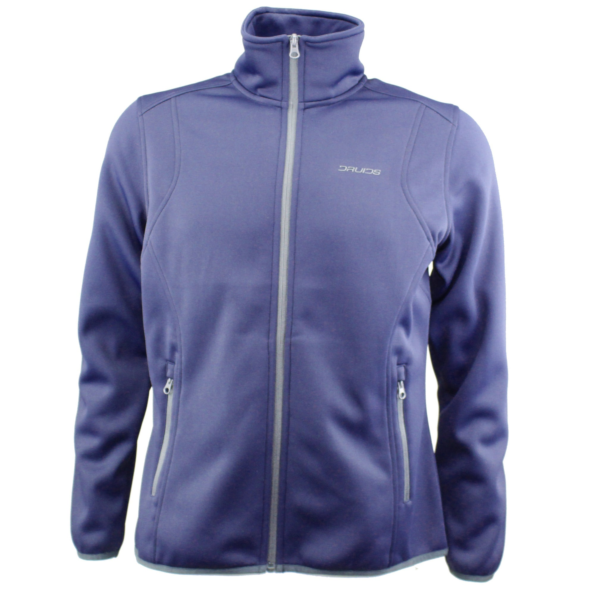 Druids Golf - Ladies Therma Full Zip Midlayer (Navy)
