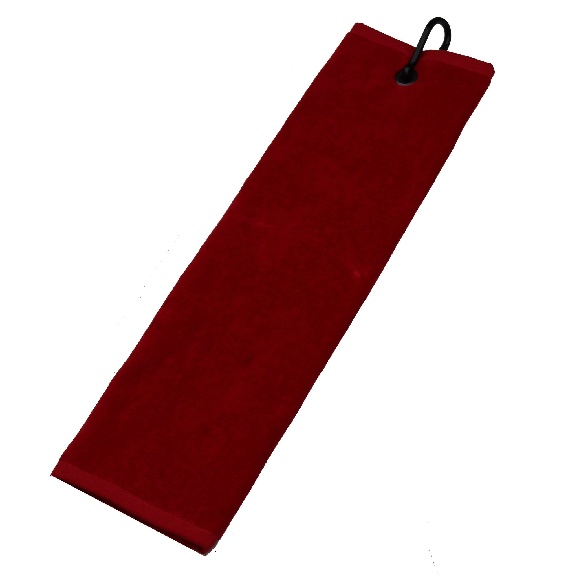 Druids Golf - Corporate Velour Tri-Fold Towel (Red)
