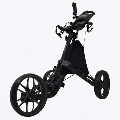 Druids Golf - Compact EZ Carbon Trolley (Black/Grey)