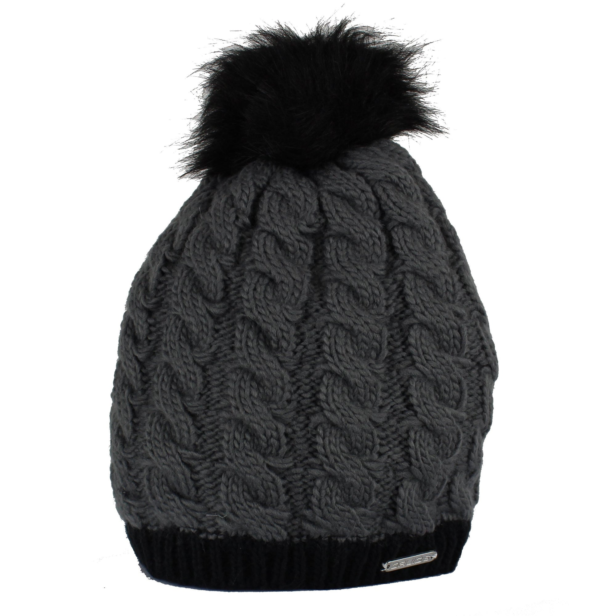 Druids Golf - Ladies Two Tone Beanie (Grey)