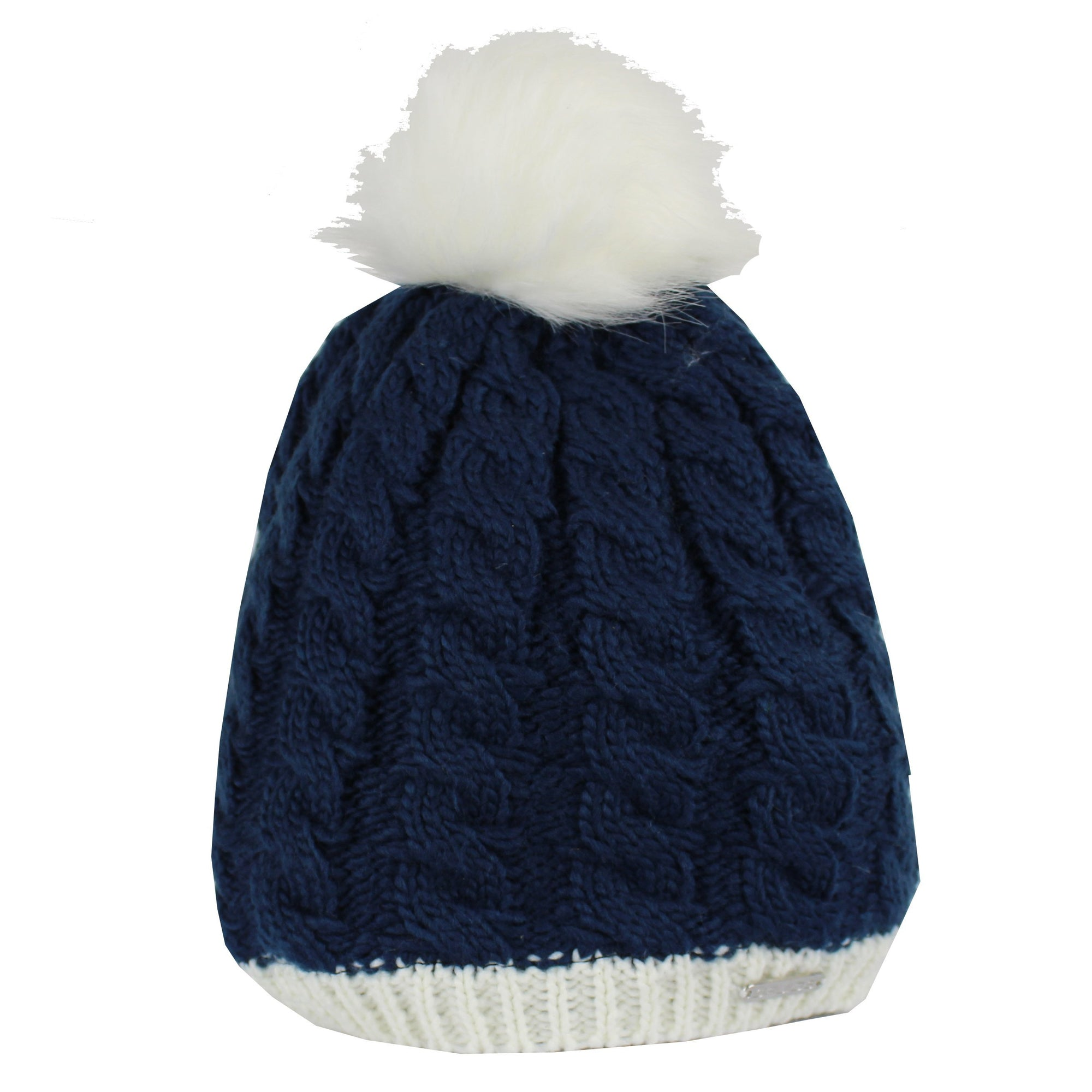 Druids Golf - Ladies Two Tone Beanie (Navy)