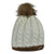 Druids Golf - Ladies Two Tone Beanie (White)