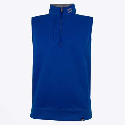 Druids Golf - Mens Two Tone 1/4 Zip Gilet (Blue)