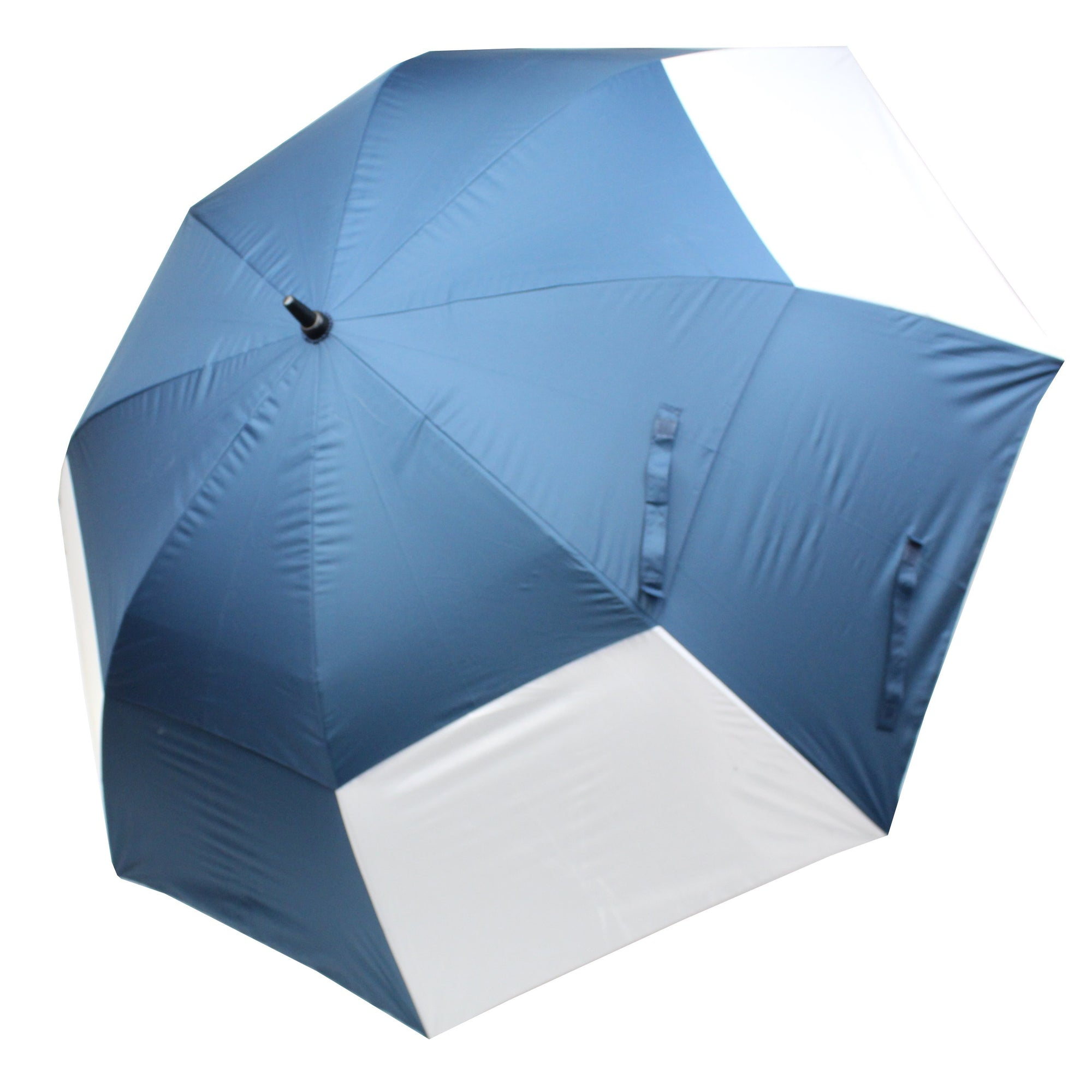 Druids Golf - Crested Double Canopy Corporate Umbrella (Navy)