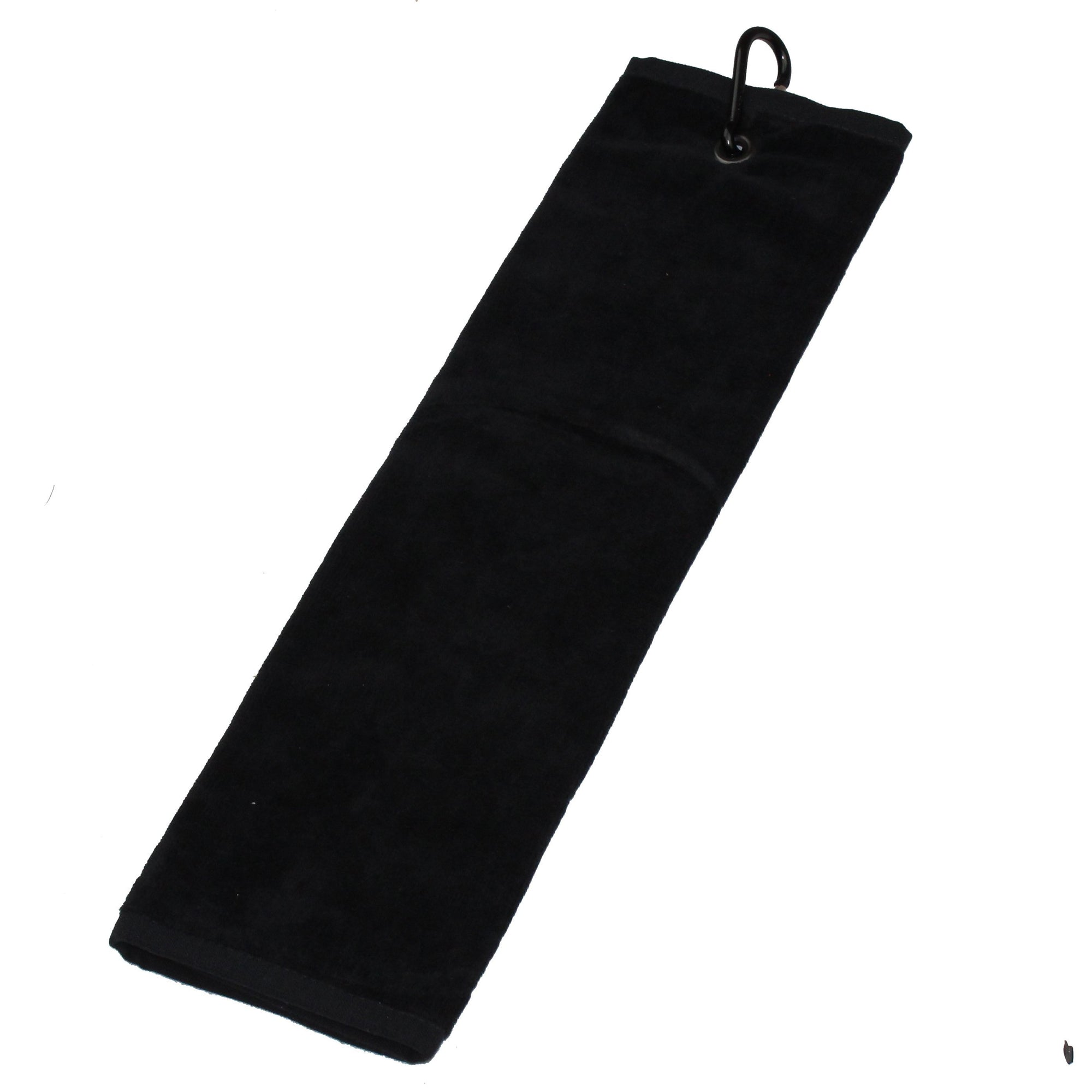 Druids Golf - Corporate Velour Tri-Fold Towel (Black)