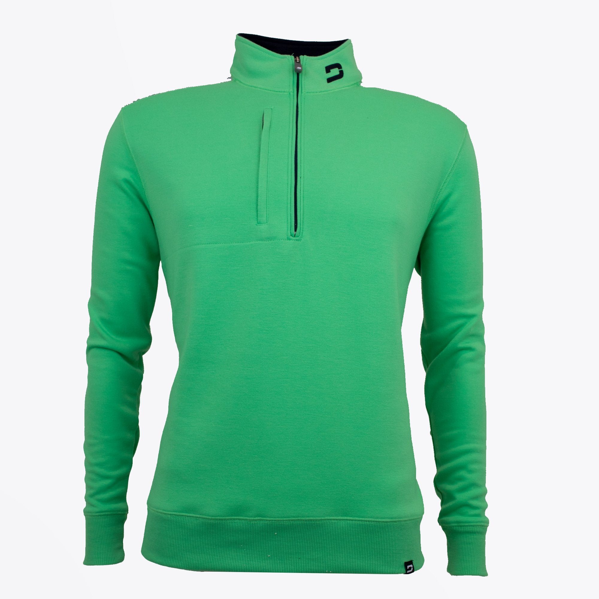 Druids Golf - Mens Two Tone 1/4 Zip (Green)