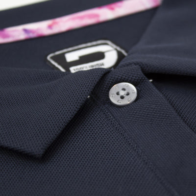 Druids Golf - Ladies High Cut Polo (Navy)