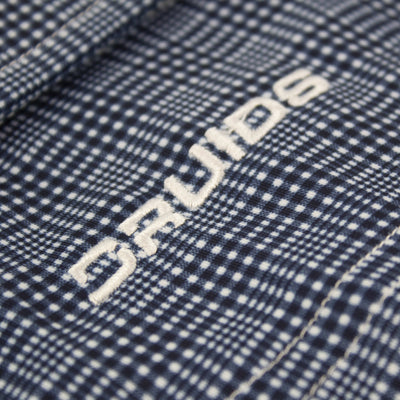 Druids Golf - Mens Tartan Premium Polo (Navy)