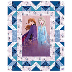 Frozen Anna and Elsa Quilt Panel to sew - QuiltGirls®