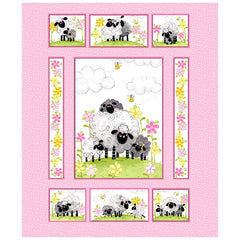 Susybee's La the Lamb Quilt Panel to sew - QuiltGirls®