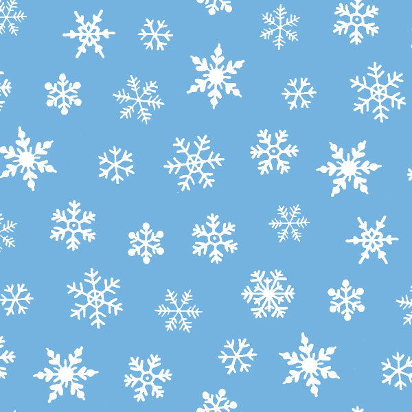 BLU Susybee's Snowflakes Fabric to sew