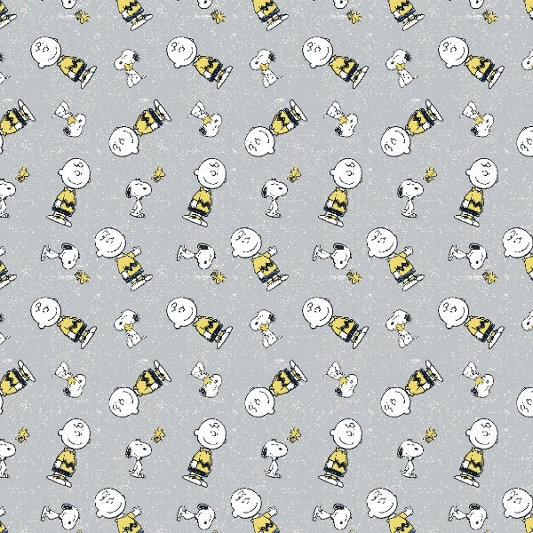 Snoopy and Charlie Brown Fabric to sew - QuiltGirls®
