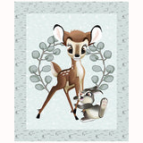 Disney Bambi and Thumper Quilt Panel to sew - QuiltGirls®