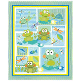 Toadally Cute Quilt Panel to sew - QuiltGirls®