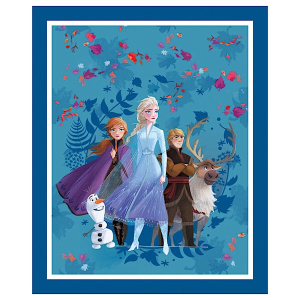 Frozen Friends Forever Quilt Panel to sew