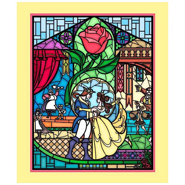 Disney's Beauty and the Beast Quilt Panel to sew