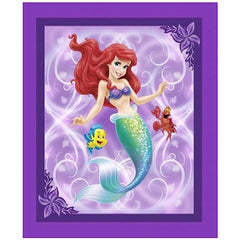 Ariel and Friends Quilt Panel to sew - QuiltGirls®