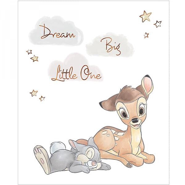 Disney Bambi Dream Big Quilt Panel to sew
