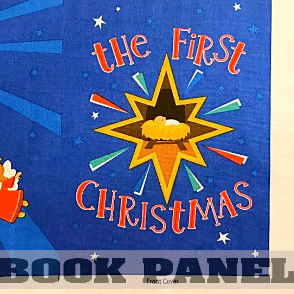 The First Christmas Fabric Book Panel to Sew