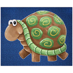 Susybee's Sheldon the Turtle Play Mat Panel to sew - QuiltGirls®