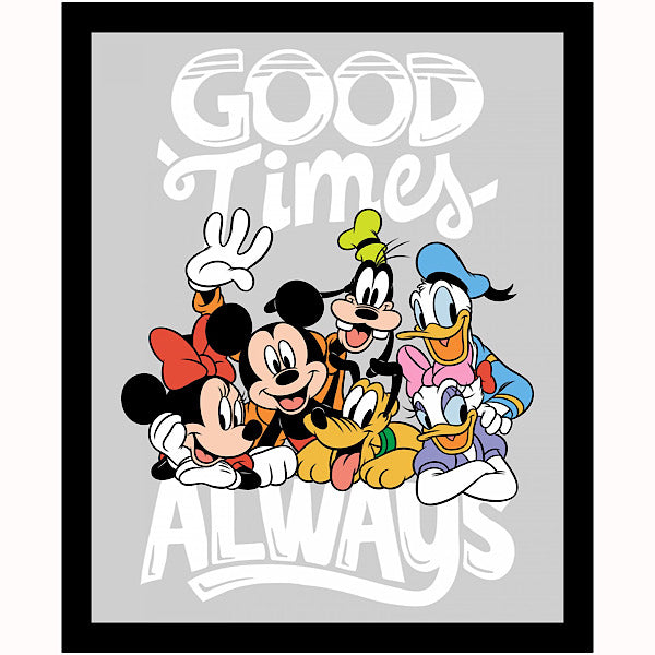 Mickey and True Friends Quilt Panel to sew