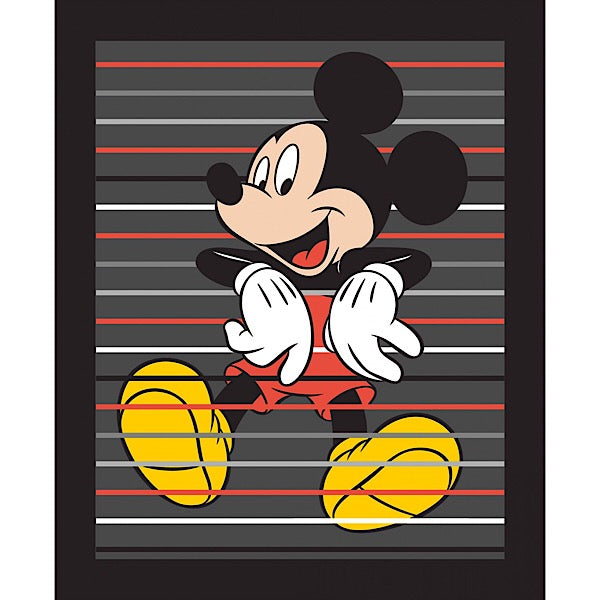 Mickey Mouse Quilt Panel to sew