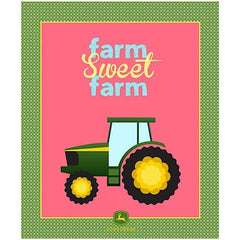 John Deere Farm Sweet Farm Quilt Panel to sew - QuiltGirls®