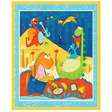 Dino Mates Quilt Panel to sew - QuiltGirls®