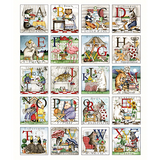 Hungry Animal Alphabet Quilt Panel to sew - QuiltGirls®