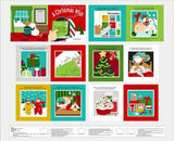 A Christmas Wish Fabric Book Panel to Sew - QuiltGirls®