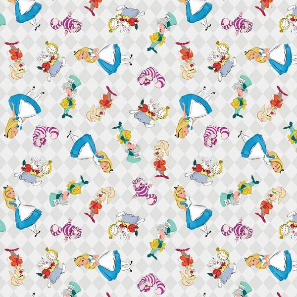 Alice and Friends Adventures Fabric to sew - QuiltGirls®