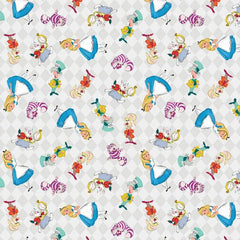 Alice and Friends Fabric to sew - QuiltGirls®