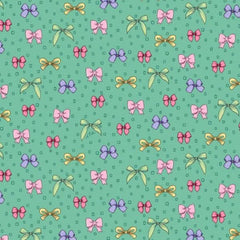 "(Remnant 18"") GRN Amour De Fleur Fabric to sew - QuiltGirls®"