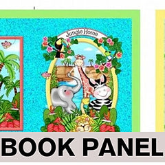 Its a Bazoople Day ~Jungle Animals Book Panel