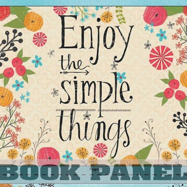 Believe You Can Fabric Book Panel to Sew - QuiltGirls®