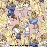 Belle and the Beast Fabric to sew - QuiltGirls®