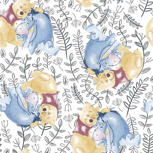 Pooh Best Friends Fabric to sew