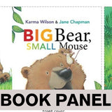 Big Bear Small Mouse Fabric Book Panel to Sew - QuiltGirls®